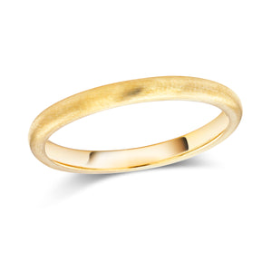 14 Karat Yellow Gold Two Millimeter Wedding Band - OGI-LTD