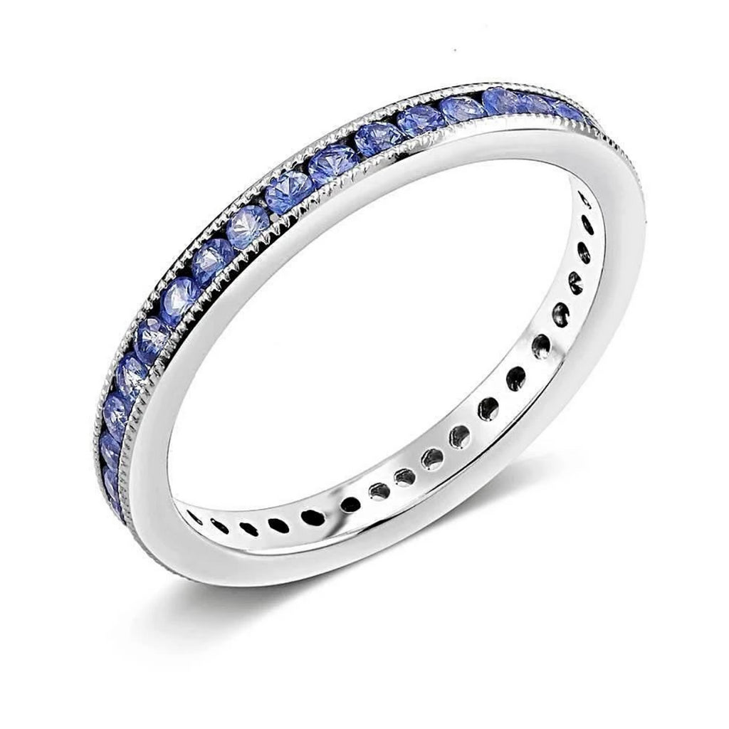 rings eternity diamonds pt bands in milgrain and products band ring jl finish platinum half with wedding diamond