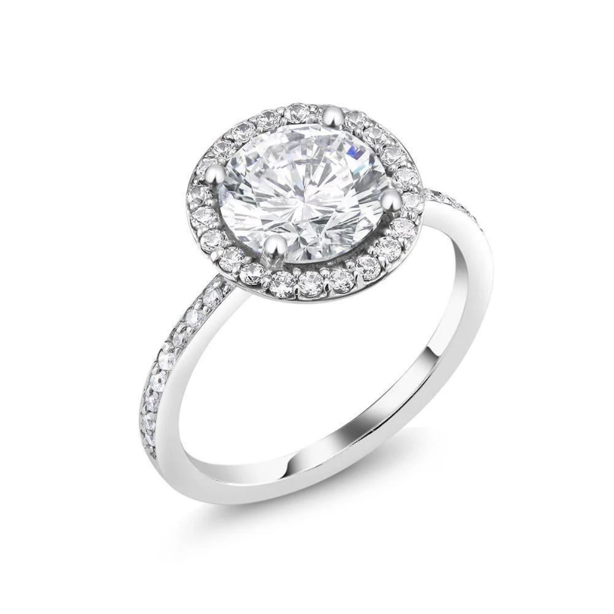 stunning certified gia bloom round ring rings diamond halo with a