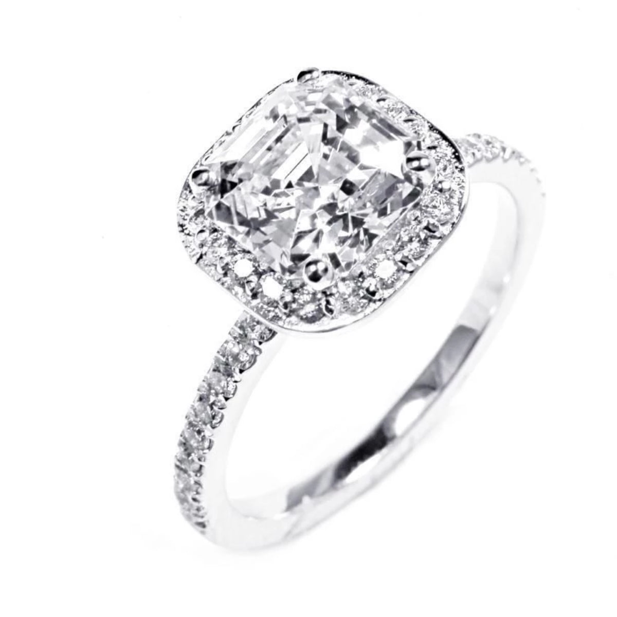 mia round neo rings diamond carat engagement product moissanite ring cut
