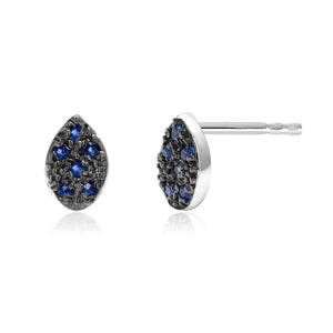 14 Karat Gold Pear Shape Sapphire Pair or Single Stud Earrings - OGI-LTD