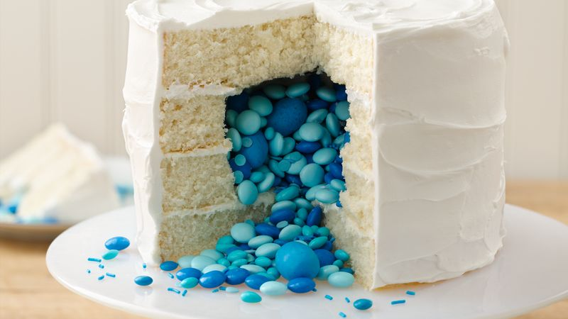 How to Make a Gender Reveal Cake