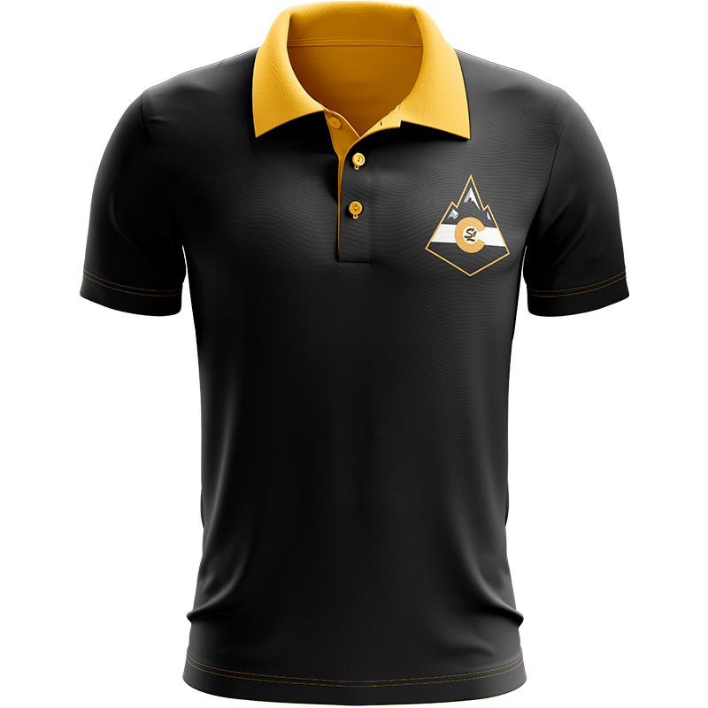 Sandlot Bees Custom Sublimated Three-Button Polo