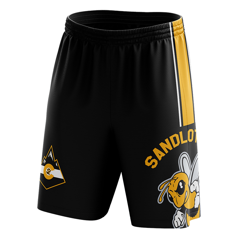 Sandlot Bees Custom Sublimated Home Workout Shorts