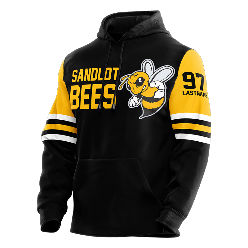 Sandlot Bees Custom Sublimated Hoodie