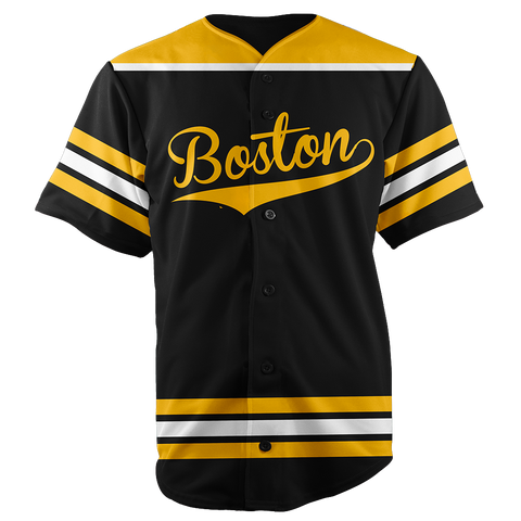 BOSTON BASEBALL JERSEY - CUSTOM