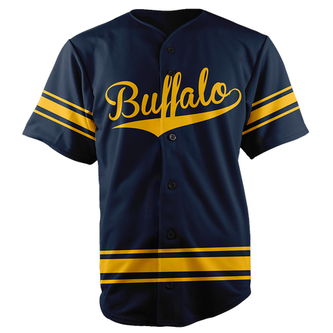 BUFFALO BASEBALL JERSEY - CUSTOM