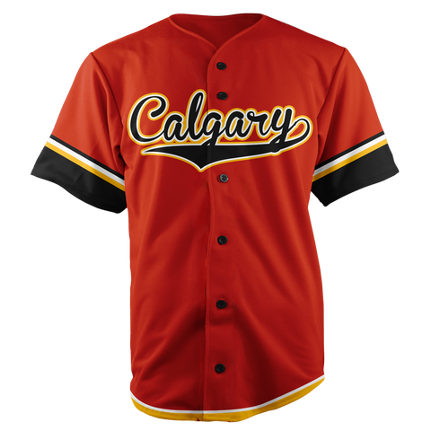 Image of CALGARY BASEBALL JERSEY - CUSTOM