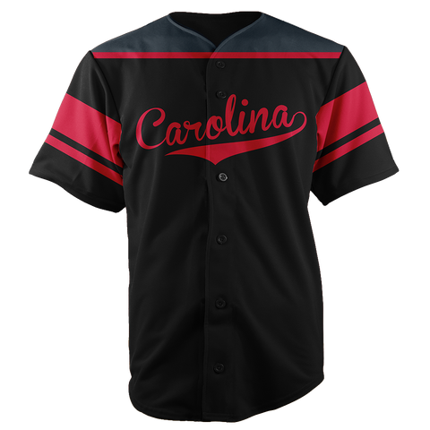 Image of CAROLINA BASEBALL JERSEY - CUSTOM