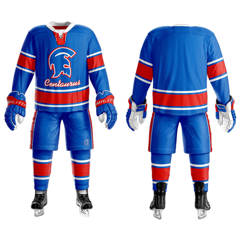 Centaurus Custom Sublimated Home Hockey Jersey