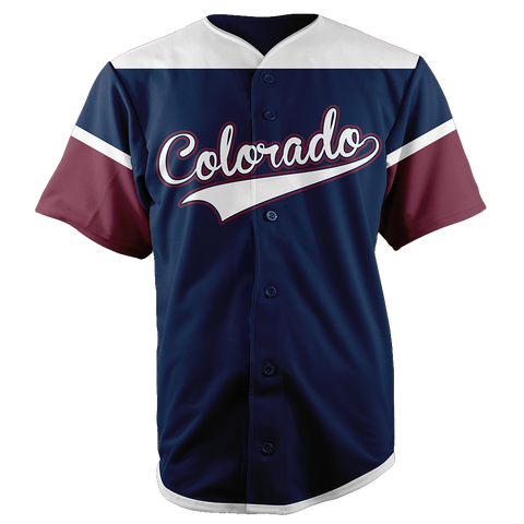 COLORADO BASEBALL JERSEY - CUSTOM