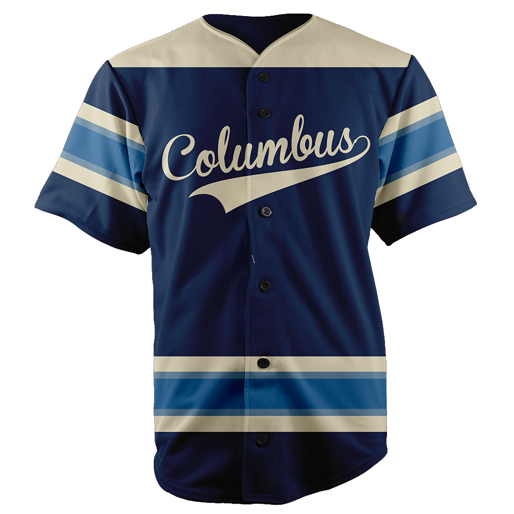 COLUMBUS BASEBALL JERSEY - CUSTOM