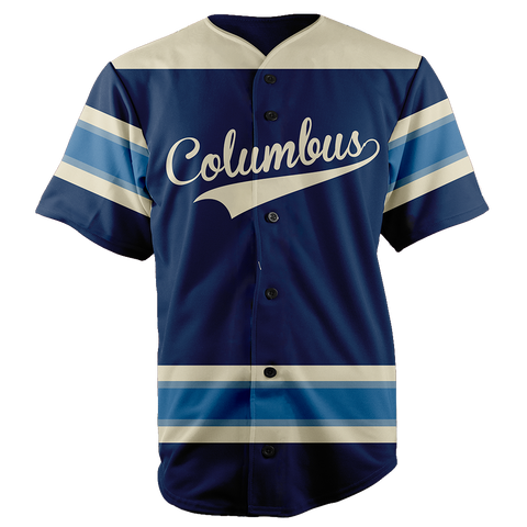 Image of COLUMBUS BASEBALL JERSEY