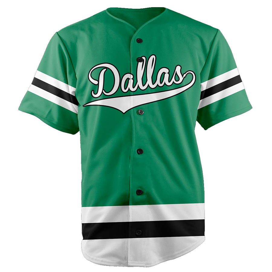 DALLAS BASEBALL JERSEY