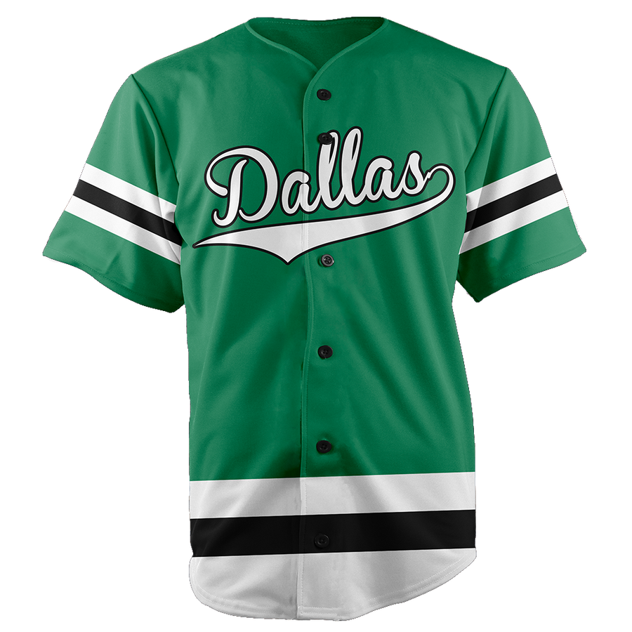 DALLAS BASEBALL JERSEY - CUSTOM