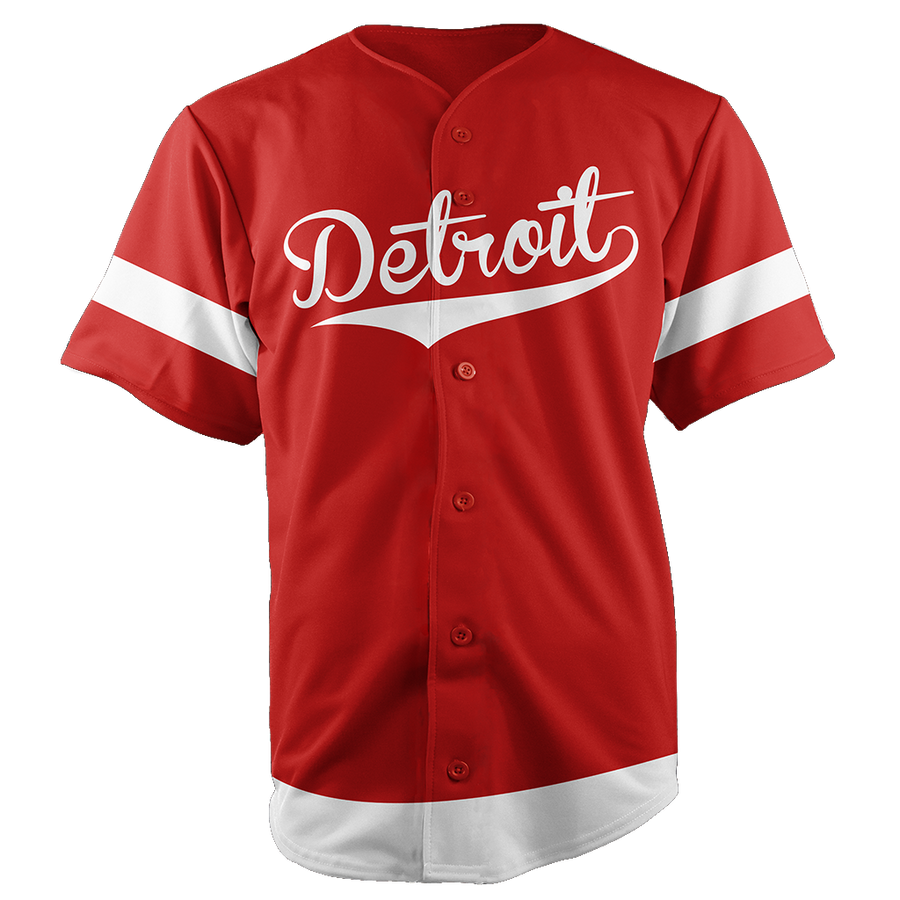 DETROIT BASEBALL JERSEY - CUSTOM