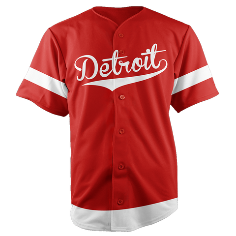 Image of DETROIT BASEBALL JERSEY