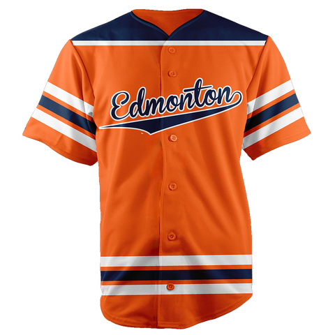 Image of EDMONTON BASEBALL JERSEY - CUSTOM