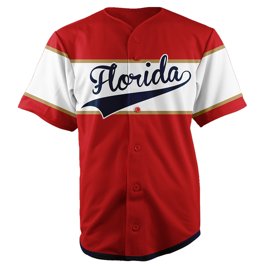 FLORIDA BASEBALL JERSEY - CUSTOM