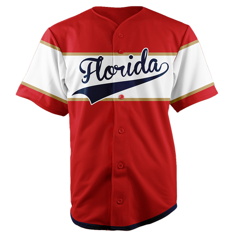 Image of FLORIDA BASEBALL JERSEY