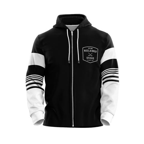 Reclaimed Sticks Custom Sublimated Full-Zip Hoodie