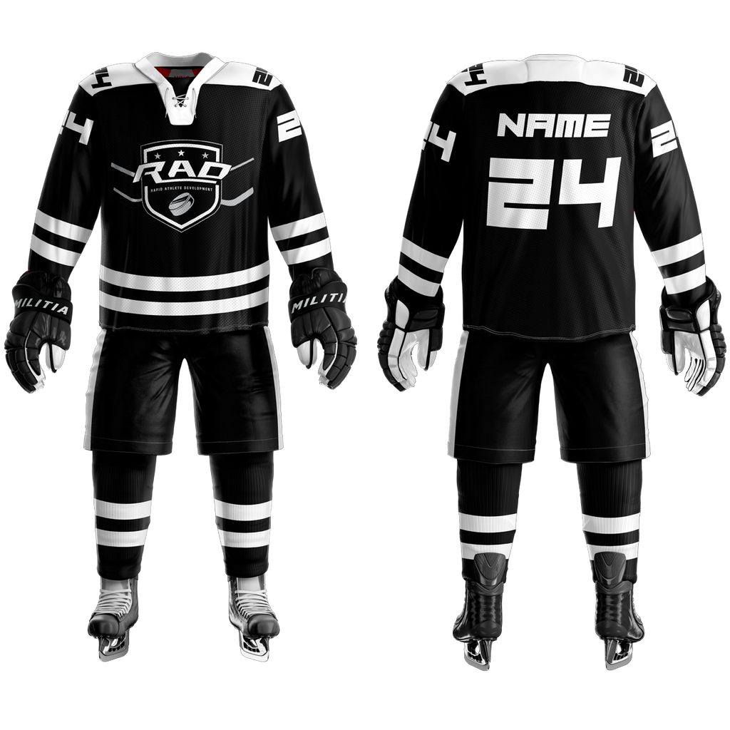 Rad Hockey Custom Sublimated Home Hockey Jersey