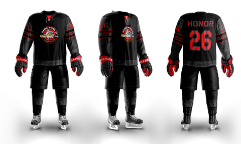 Dawg Nation Custom Sublimated Home Hockey Jersey