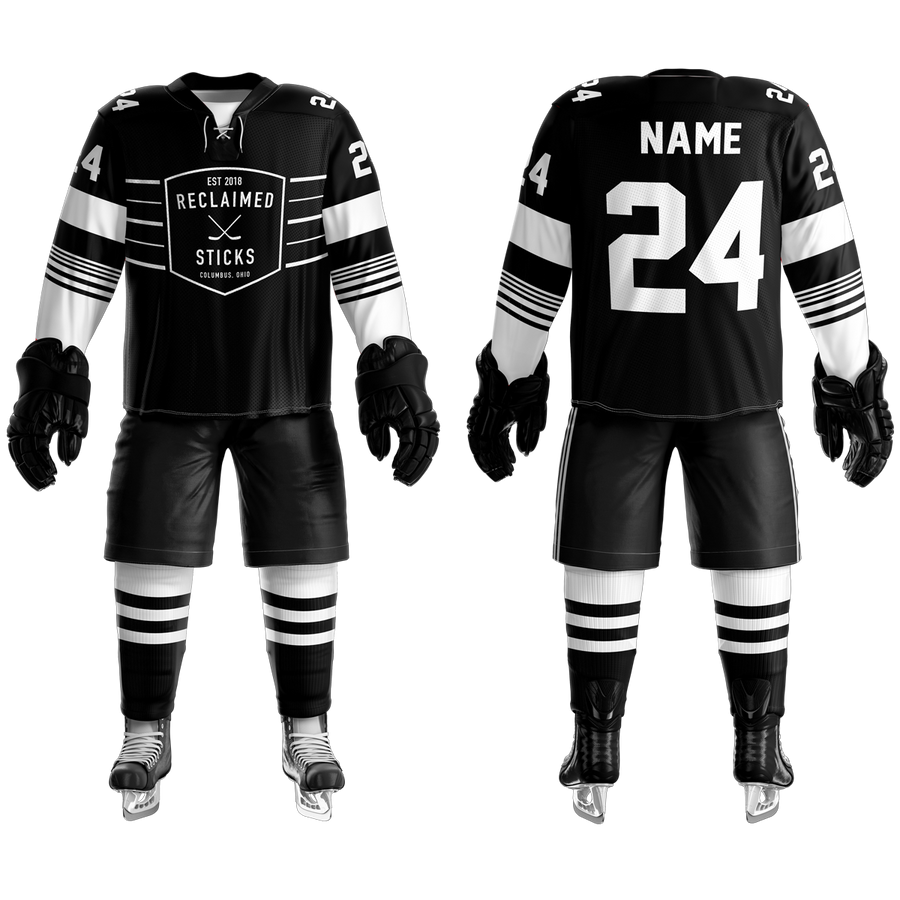 Reclaimed Sticks Custom Sublimated Home Hockey Jersey