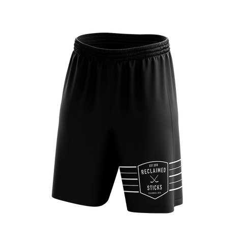 Reclaimed Sticks Custom Sublimated Home Workout Shorts