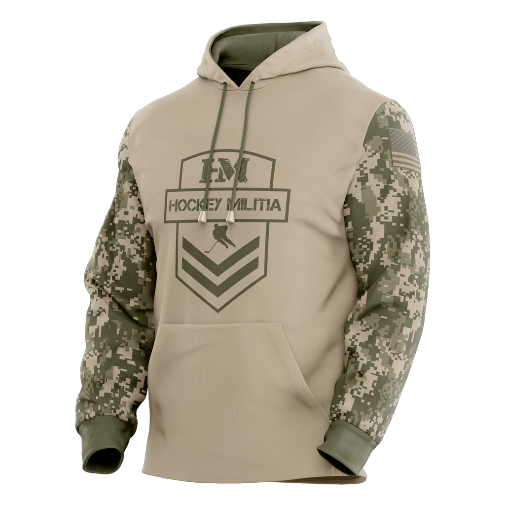 Hockey Militia Custom Sublimated Hoodie