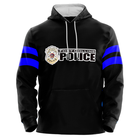 Fort Collins Police Department Custom Sublimated Hoodie