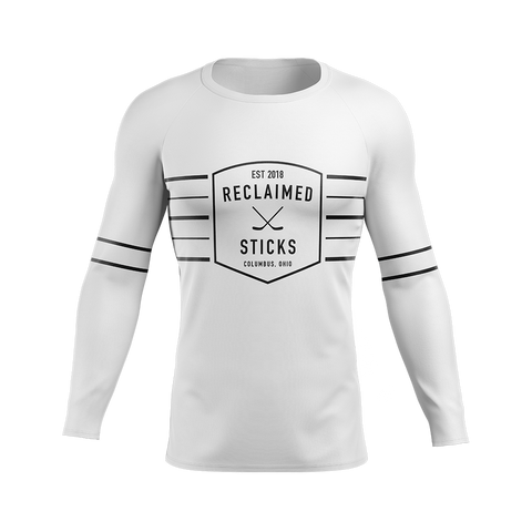 Reclaimed Sticks Custom Sublimated Away Long Sleeve Workout Shirt