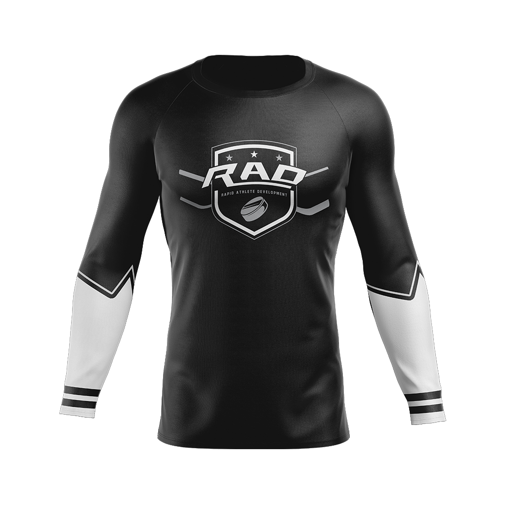 Rad Hockey Custom Sublimated Home Long Sleeve Workout Shirt