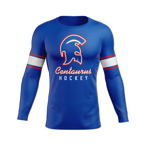 Centaurus Custom Sublimated Home Long Sleeve Workout Shirt