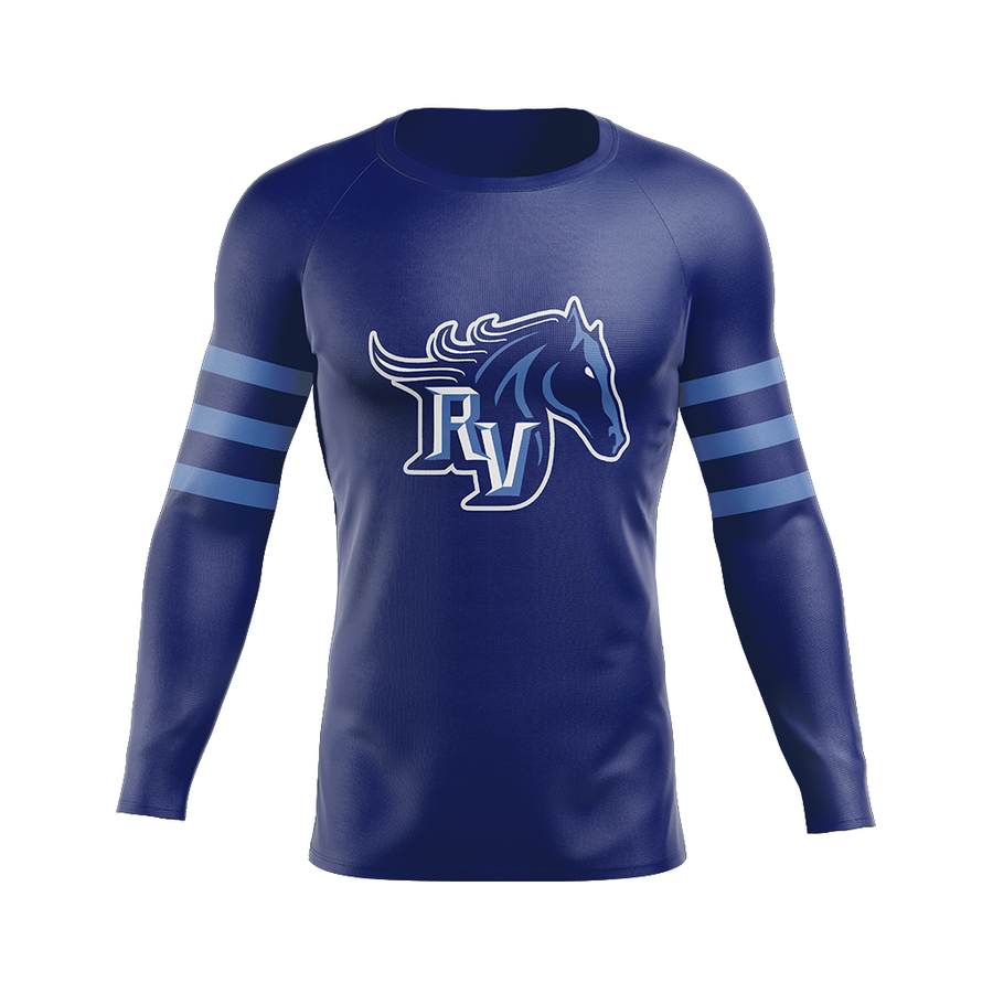 Team Ralston Valley Custom Sublimated Home Long Sleeve Workout Shirt
