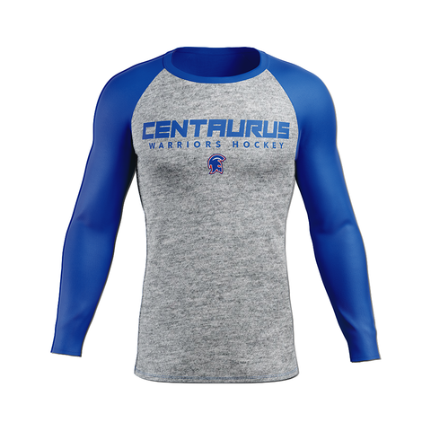 Centaurus Custom Sublimated Away Long Sleeve Workout Shirt
