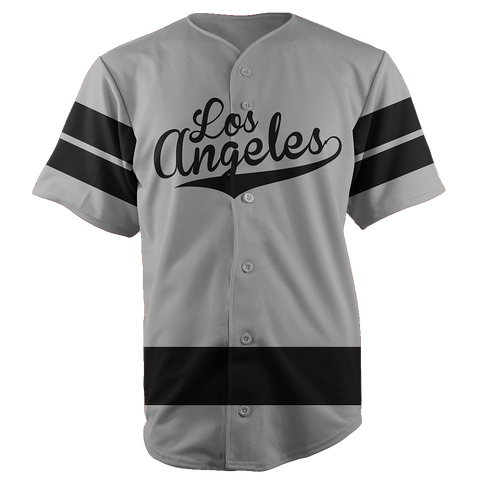 LOS ANGELES BASEBALL JERSEY - CUSTOM