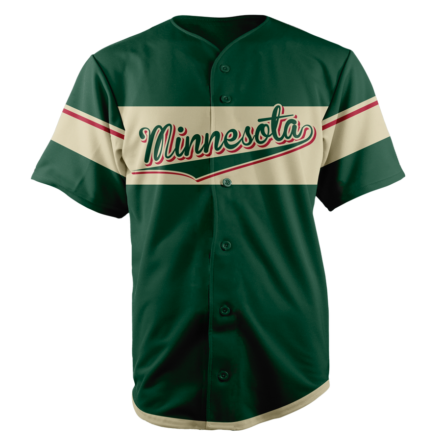 MINNESOTA BASEBALL JERSEY - CUSTOM