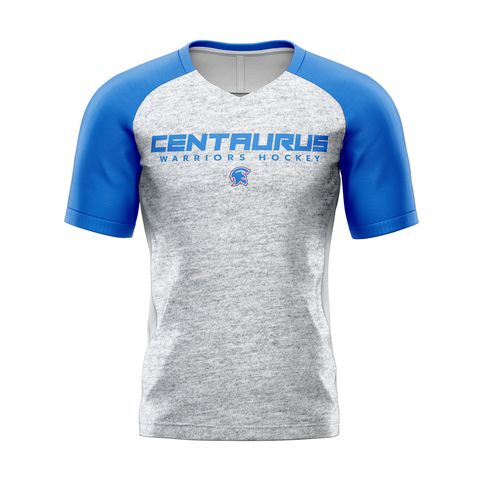 Centaurus Custom Sublimated Away Short Sleeve Workout Shirt
