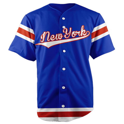 NEW YORK BASEBALL JERSEY - CUSTOM