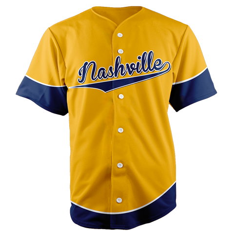 Image of NASHVILLE BASEBALL JERSEY PREDATORS