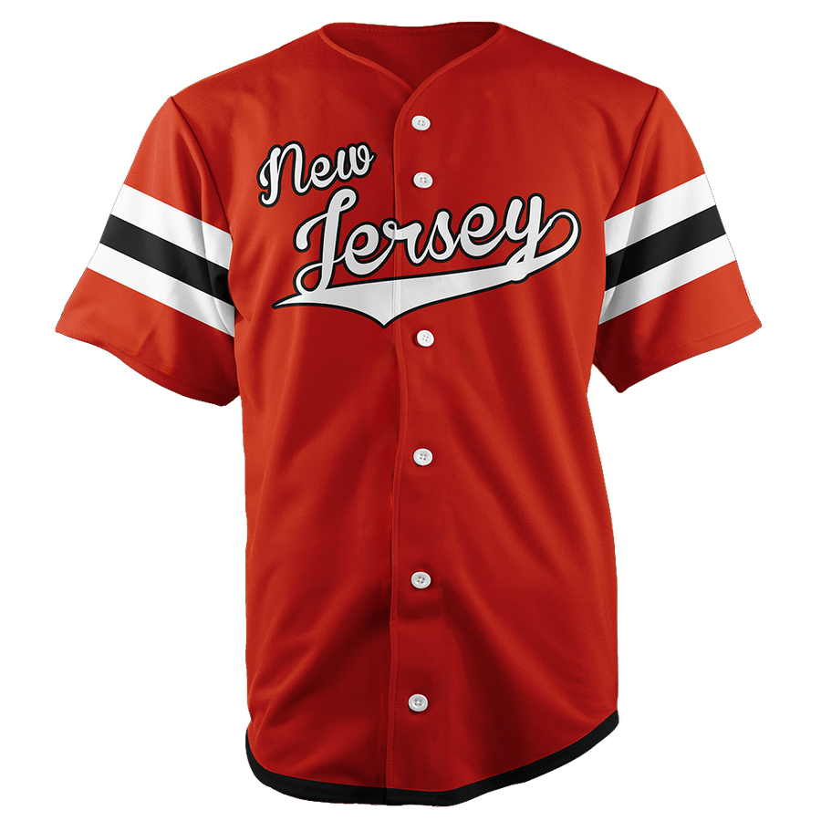 NEW JERSEY BASEBALL JERSEY - CUSTOM