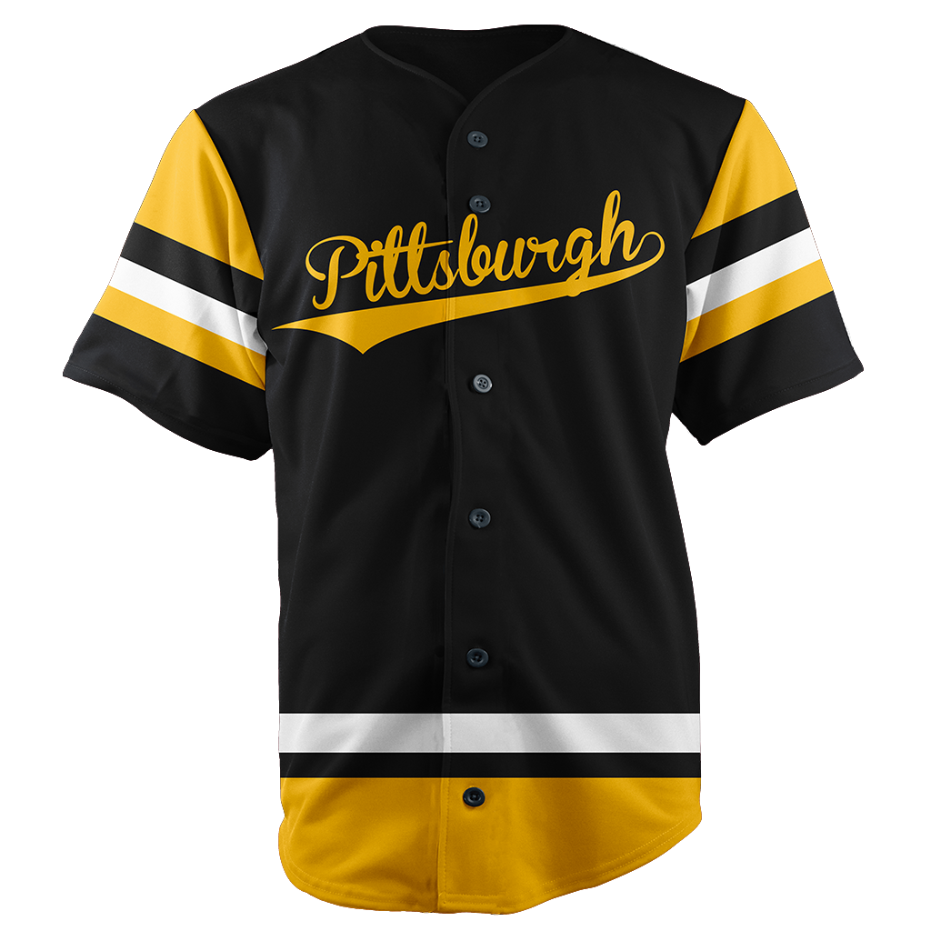 PITTSBURGH BASEBALL JERSEY - CUSTOM