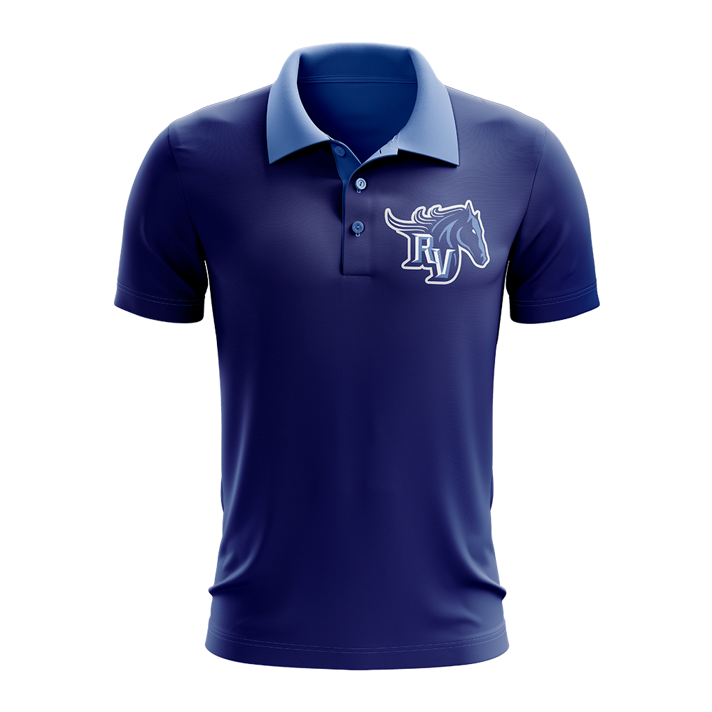 Team Ralston Valley Custom Sublimated Three-Button Polo