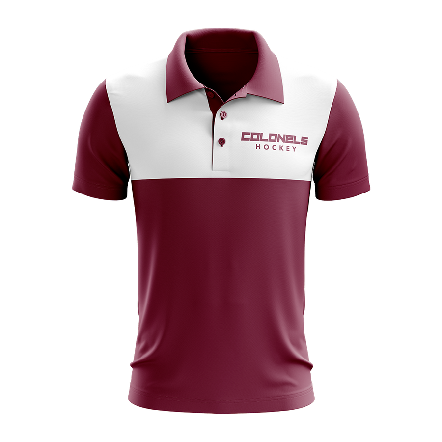 Eastern Kentucky University Custom Sublimated Three-Button Polo