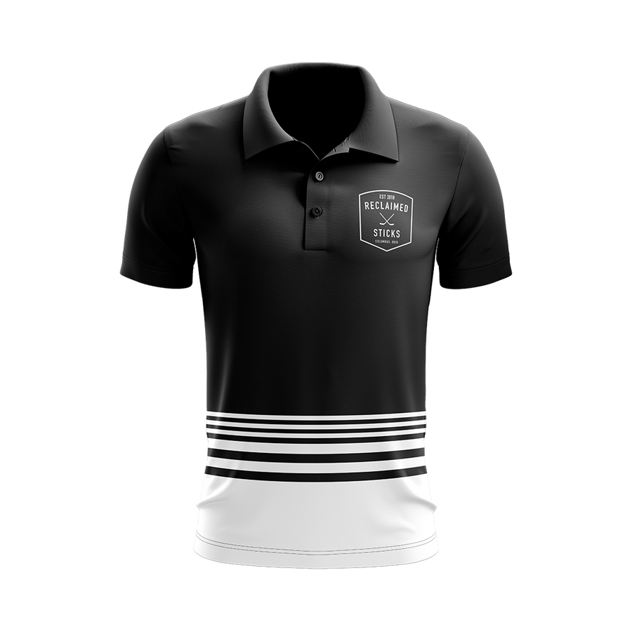 Reclaimed Sticks Custom Sublimated Three-Button Polo