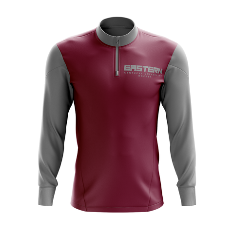 Eastern Kentucky University Custom Sublimated 1/4 Zip Jacket