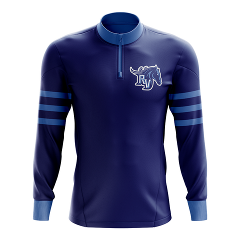 Team Ralston Valley Custom Sublimated 1/4 Zip Jacket