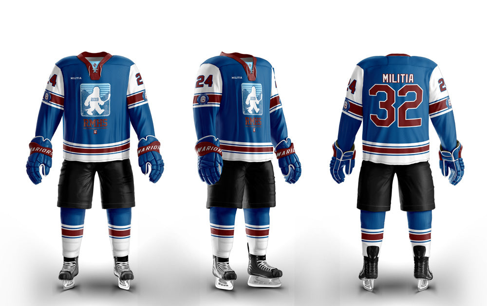 RMHS Hockey Custom Sublimated Home Hockey Jersey