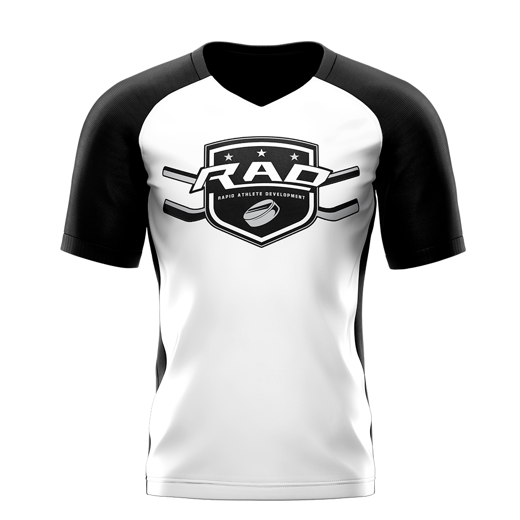 Rad Hockey Custom Sublimated Away Short Sleeve Workout Shirt